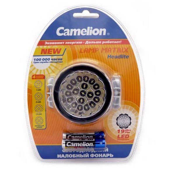 Фонарь Camelion LED 5323  HeadL