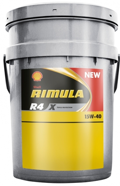 Shell RIMULA R4X 15W40 20 л  масло моторное (бывшее R3)