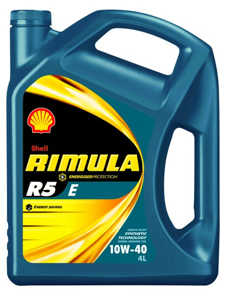 Shell RIMULA R5 E 10W40 4 л  масло моторное