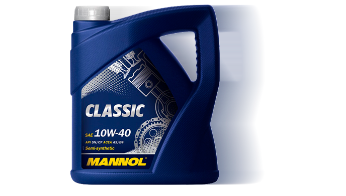 MANNOL CLASSIC HIGH POWER 10W40 п/с 4 л