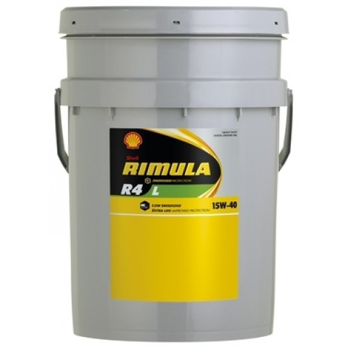 Shell RIMULA R4 L 15W40 20 л  масло моторное