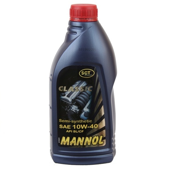 MANNOL CLASSIC HIGH POWER 10W40 п/с 1 л